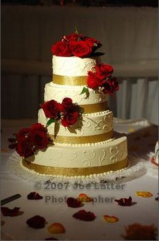 Wedding, Cake - Photo by Joe Latter Photographer