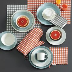 Teema Grey Dinnerware | Unison