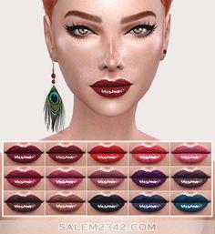 Sims 4 CC's - The Best: Lipstick by Salem