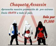Asesinos ya tenemos todas las tallas y colores disponibles, no se queden sin la suya! Tenemos pocas existencias....Dudas y preguntas vía inbox #assassinscreed #assassins #ubisoft #assassinscreedmovie #aguilardenerha #assassinscreed #assassins #creed #assassin #ac #assassinscreeed2 #assassinscreedbrotherhood #assassinscreedrevelations #assassinscreed3 #assassinscreedblackflag #assassinscreedrogue #assassinscreedunity #assassinscreedsyndicate #altairibnlaahad #ezioauditore #connorkenway…