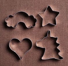 Unicorn Party Cookie Cutters Set