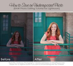 How to Save an Underexposed RAW File in Lightroom