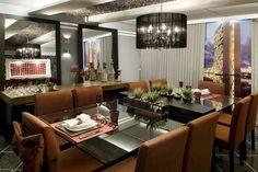 Decor Salteado - Blog de Decoração | Construção | Arquitetura | Paisagismo: Salas de jantar-50 modelos maravilhosos e dicas de como decorar!