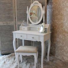 Rosa Range - Dressing Table Stool & Mirror £209