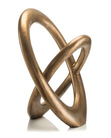 Limited Production Design: Contemporary Art Metal Interlocking Sculpture * Brass * 21 x 17 x 10 inches Contemporary Sculpture, Contemporary Art, Abstract Sculpture, Sculpture Art, Dining Room Table Centerpieces, Centerpiece Ideas, Sculptures For Sale, Commercial Interior Design, Decorating Coffee Tables