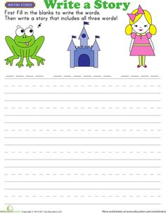 Story starters, Worksheets and Writing prompts on Pinterest