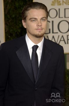 LEONARDO DiCAPRIO at the Golden Globe Awards at the Beverly Hills Hilton Hotel. 19JAN2003. Paul Smith / Featureflash