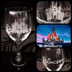 Personalised Disney Cinderella Silhouette by PennyStreetBoutique