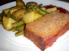 Healthy vegetarian Recipe -Vegan TVP and Tofu Meatloaf Recipe - Healthy-Recipes, Vegetarian Recipes