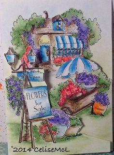 Art Impressions Flower Shoppe