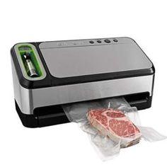 FoodSaver V4840 Vacuum Sealer Machine Food Saver Vacuum Sealer, Freezer Burn, Best Vacuum, Handheld Vacuum, Specialty Appliances, Vacuums, Starter Kit, Food Storage, Kitchen Sink