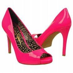 Womens Jessica Simpson Saras Fluorescent Pink Pat Shoes.com