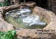 Tips & Tricks For Building Out Your Own DIY Natural Swimming Pool Building Out Your Own DIY Natural Swimming Pool Swimming Pool Rock Waterfalls Kits Fountains And Boulders Inground Hot Tub, Jacuzzi Outdoor, Outdoor Spa, Backyard Pool Designs, Pool Landscaping, In Ground Spa, Pool Kits, Rock Waterfall, Hot Tub Backyard