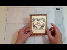Get the 411 on how to combine Collage Stamping and Masking techniques in my how to video. - Allison Okamitsu