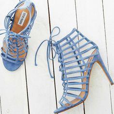 Steve Madden Caged Stiletto Sandals Carrmen