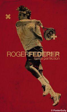Roger Federer Artwork | PosterGully