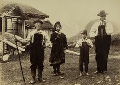 Setesdal, Norway ca 1882  Photo by Axel Lindahl