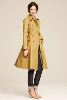 swoon. trench + jeans + heels   perfection! Classic Trench Coat 2d1cf2b72d