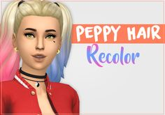 Maxis Match CC for The Sims 4 — neonpeche: Does anybody obsessed with Harley. Sims 4 Mods, My Sims, Sims 4 Children, Sims 4 Characters, Best Sims, Sims Hair, Sims 4 Game, Sims 4 Cc Finds, Sims 4 Custom Content