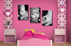 22 Lovely DIY Ways to Display Your Family Photos   How Darlin!!!!!!!! ❤❤