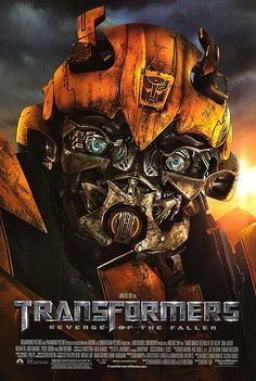 Transformers Revenge of the Fallen. Not ashamed to say how much I love Transformers. :)
