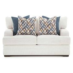 Axelle Sofa Reviews Birch Lane Love Seat Blue Living Room Decor Living Room Sets