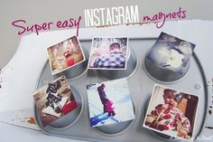 How to make super easy Instagram magnets in less than 10 minutes!