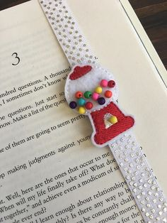 Adorable Gum Ball Machine stretchy bookmark planner accessories notebook midori accessories travelers notebook accessories boss gift teen