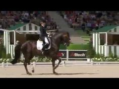 Helen Langehanenberg & Damon Hill,WEG Normandy Freestyle 2014