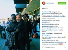 When he embraced Lupita Nyong'o and the sweet, sweet photobomb of Oscar Isaac.