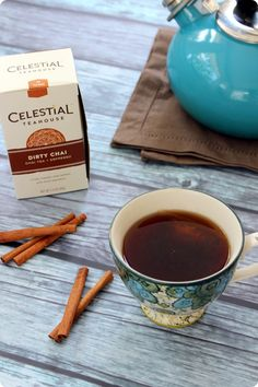 AD. Excited to share news of the brand new @celestialtea chai tea products -- check out the blog post for a chai tea giveaway, too! #CelestialTea
