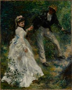 Renoir, La Promenade, 1870, Los Angeles, The J. Paul Getty Museum