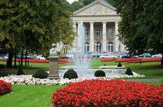 Aachen casino fountain