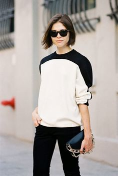 New York Fashion Week SS 2014....Emily