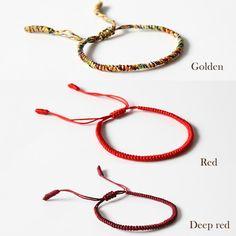 Handmade rope knot bracelet