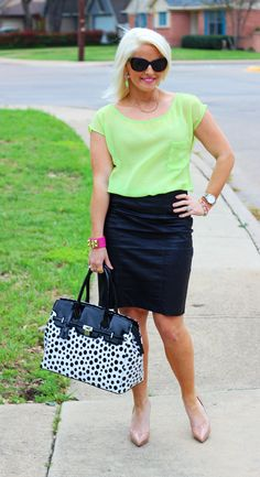 Leather and Neon