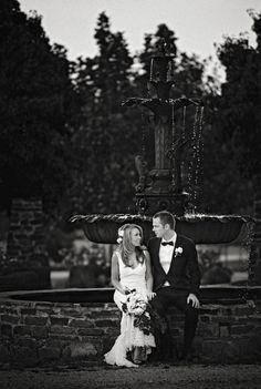 Daylesford wedding at Sault lavander farm. The champagne fountain. www.shaunguestphotography.com.au
