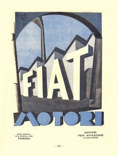 Historic Fiat poster