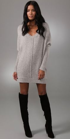 dfd5161f304 Sweater Dress  2dayslook  sunayildirim  kelly751  SweaterDress  www.2dayslook.com