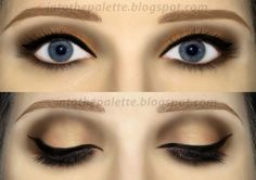 A Bewitching Eyeshadow Tutorial   Into The Palette