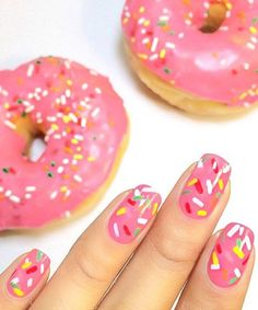 The Best Manicure Inspiration For Fall The Best Manicure Inspiration For Fall,Nail Art 16 super-gorgeous ideas for your next manicure appointment Related posts:Over 50 Bright Summer Nail Art Designs That Will Be So Trendy. Diy Vernis, Cute Nails, Pretty Nails, Sprinkle Nails, Sprinkle Donut, Nagellack Design, Nails For Kids, Nail Art Kids, Easy Kids Nails