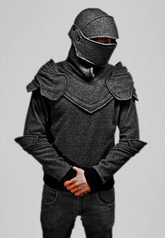 Grey Knight Armored hoodie by Chadwick J. Dillon - fancy-tshirts.com