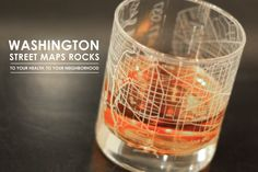 washington street map - cute gift for DC boyfriend
