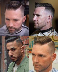 The High And Tight Haircut - What Is It? How To Get The Style? – Regal Gentleman Modern Haircuts, Haircuts For Men, Jarhead Haircut, Marine Haircut, Side Haircut, High And Tight Haircut, Side Parting, How To Cut Your Own Hair, Man Hair