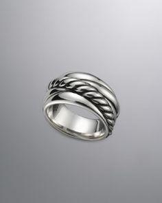 David Yurman Crossover Ring, Narrow  $325.00