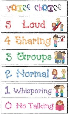 classroom management tips, classroom management ideas, voice level posters, behavior modification techniques, tips for classroom management,...