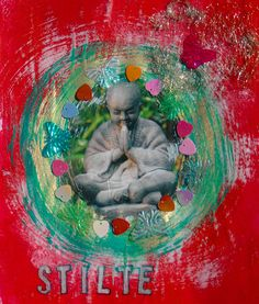 Silence....   Made bij M. Dommers-Slager