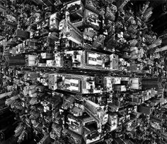 Vertigo-Inducing, Mirrored Shots Of New York City's Skyline by Brad Sloan.