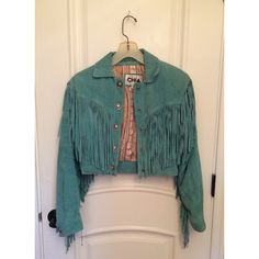 I just discovered this while shopping on Poshmark: 80's Vintage Fringe Suede Jacket. Check it out!  Size: XS, listed by oshoveit