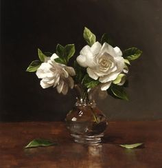Sarah Lamb is an accomplished contemporary oil painter based in Southeastern Pennsylvania. Her primary focus is painting classical-style still life paintings in a contemporary manner. Painting Still Life, Still Life Art, Oil Painting Flowers, Oil Painting Abstract, Sarah Lamb, Gardenias, Classic Paintings, Arte Floral, Painting Inspiration